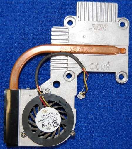 Система охлаждения с вентилятором BS4005M2B15-R от ноутбука iMango 8000DX