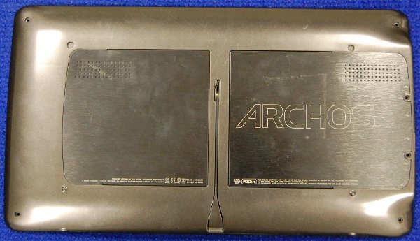 Задняя крышка корпуса от планшета Archos A101IT