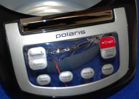 Пластиковая накладка на панель управления для мультиварки POLARIS