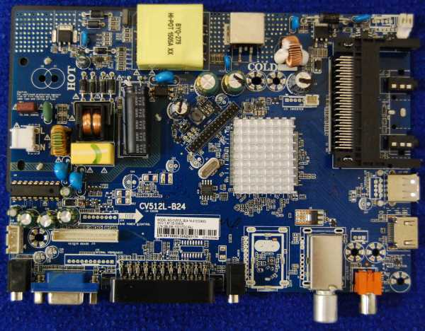 Main Board CV512L-B24-14-A1(12/400) от телевизора BBK 28LEM-1022/T2C