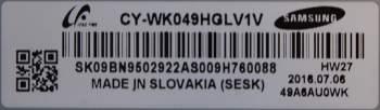 Матрица CY-WK049HGLV1V