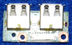 Плата USB DAOUP6TB6A0 Rev:A от ноутбука HP