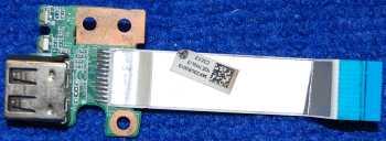 Плата с USB разъемом и шлейфом DAR33TB16C0 от ноутбука HP g6-2254sr