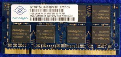 Модуль памяти DDR2 1Gb