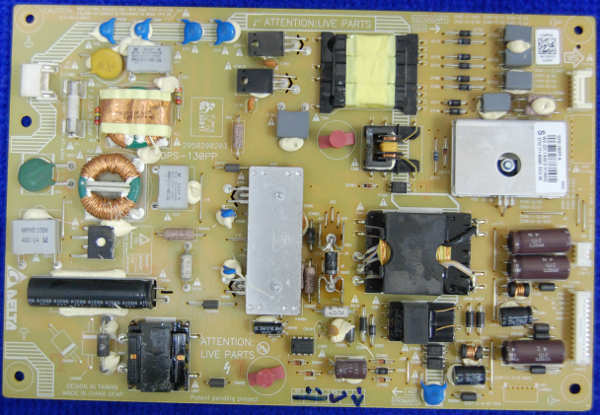 Power Supply Board DPS-130PP (2950298203) от телевизора Philips 462PFL5537T/60