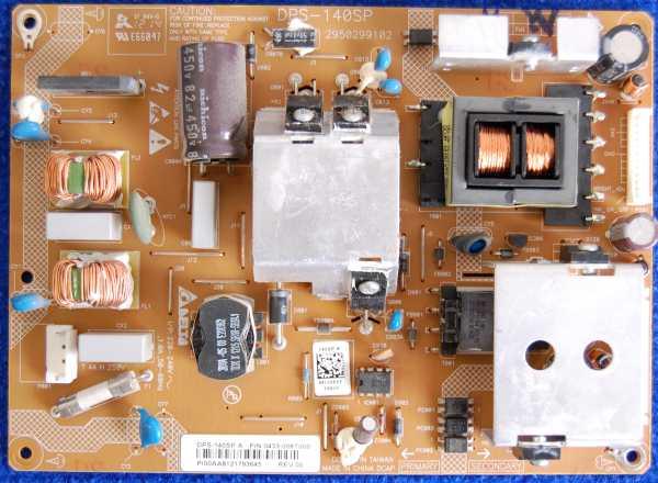 Power Supply Board DPS-140SP от телевизора Toshiba