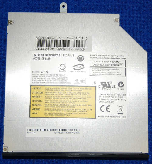DVD/CD Rewritable Drive DS-8A1P