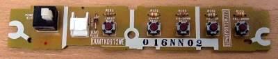 Key Controller Board DUNTKD972WE (Плата с кнопками)  от телевизора Sharp