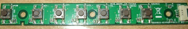 Button Board 32AV833 от Toshiba