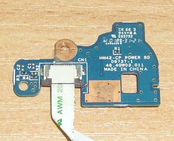 Плата включения E85792 со шлейфом от ноутбука Emachines D640G