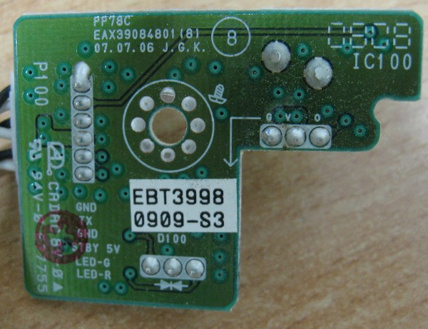 IR Board EAX39084801 EBT39980909-S3 от LG 32PS52