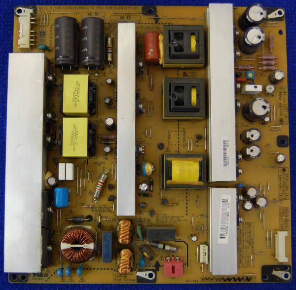 Power Supply Board EAX63329901/10 Rev1.3 P/N:EAY62171101 от телевизора 50PT351-ZJ