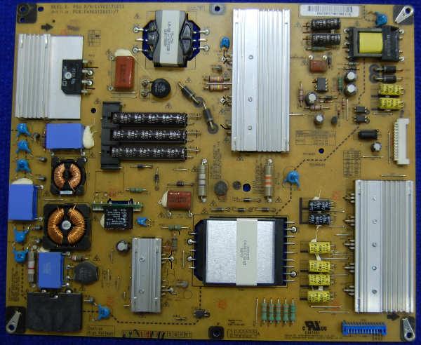 Power Supply Board EAX63729001/7 EAY62171601 от телевизора LG 42LV3700-ZC