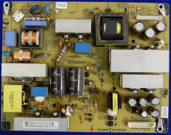 Power Supply Board EAX63985401/6 от телевизора LG 32LK330