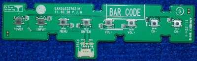 Button Board EAX64022702(0) от телевизора LG 42LW575S-ZC, 32LW575S-ZC