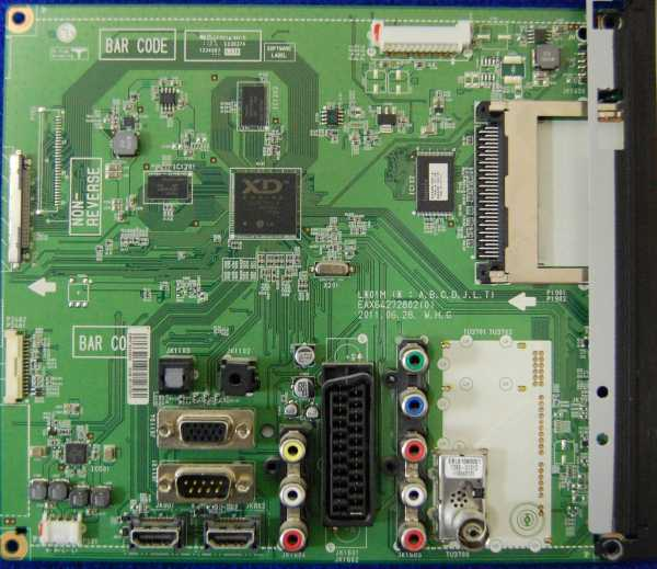 Main Board EAX64272802(0) EBR74234620 от телевизора LG 32LV3551-ZK
