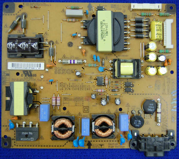 Power Supply Board EAX64310001 (1.7) от телевизора LG 32LM580S