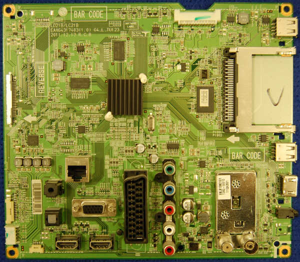 Main Board EAX64317403 (1.0) EBR75084301 от телевизора LG 32LM580S