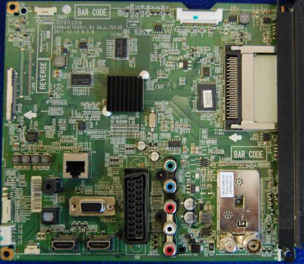 Main Board EAX64317403 (1.0) EBR75084302 от телевизора LG 42LM585T-ZD, 42LM580S-ZA