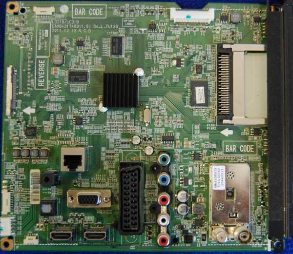 Main Board EAX64317403 (1.0) EBR75084302 от телевизора LG 42LM585T-ZD, 42LM580S-ZA