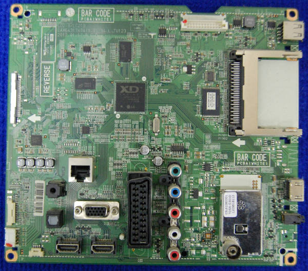 Main Board EAX64317404 от телевизора LG 42LM340T-ZA