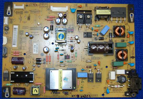 Power Supply Board EAX64427101 от телевизора LG 42LM585T-ZD