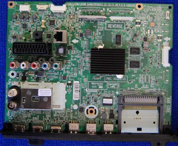 Main Board EAX64797003(1.2) EBR76823168 от телевизора LG 32LN613V-ZB