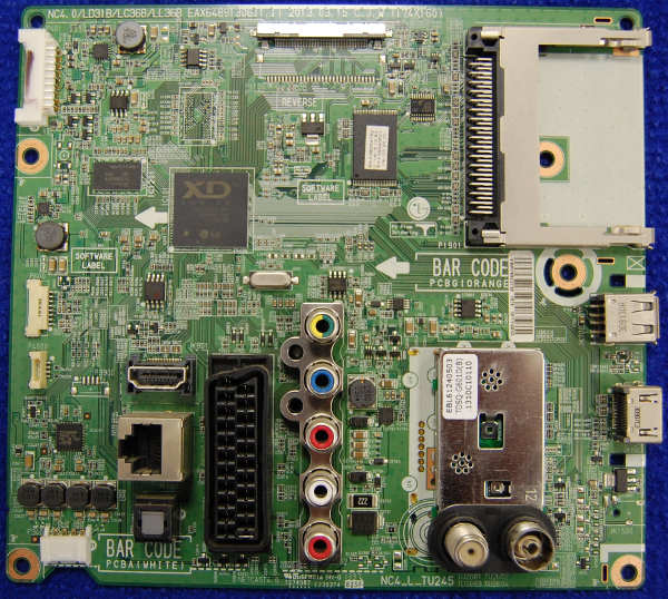 Main Board EAX64891306 (1.1) EBR76922735 от телевизора LG 39LN540V-ZA