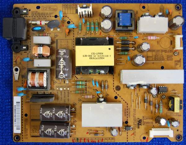 Power Supply Board EAX64905301 (2.3) LGP3739-13PL1 от телевизора LG 39LN540V-ZA, 42LN540V-ZA, 39LA620V-ZA