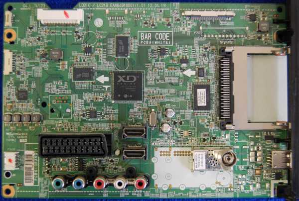 Main Board EAX64910001 (1.0) EBR75149810 от телевизора LG 42CS460