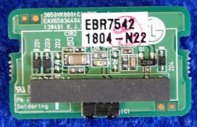 IR Board EAX65034404(1.0) EBR75421804 от телевизора LG 39LN540V-ZA, 32LN540V, 42LN540V-ZA