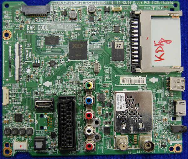 Main Board EAX65388005 (1.0) от LG 42LB620V-ZD