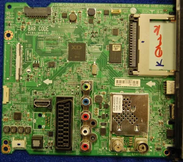 Main Board EAX65388006 от телевизора LG 32LB563V-ZT
