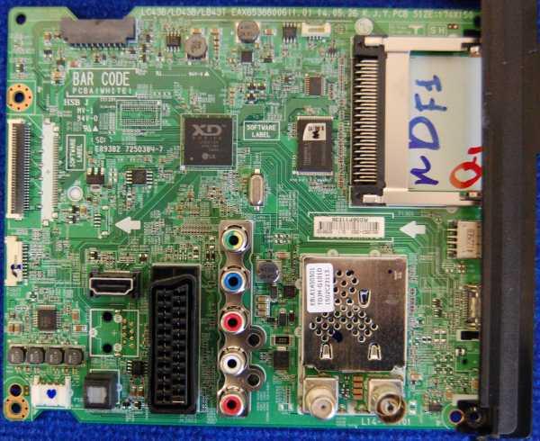 Main Board EAX65388006(1.0) от телевизора LG 32LY310C