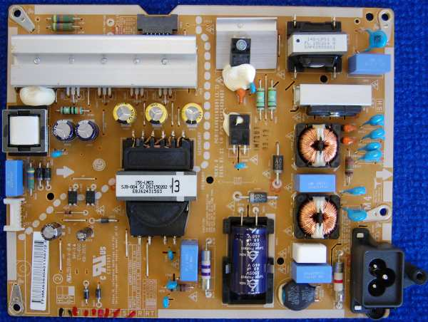 Power Supply Board EAX66163001 (1.7) EAY63630401 от телевизора LG 40LF630V-ZA