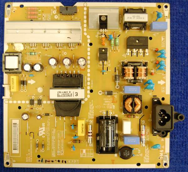 Power Supply Board EAX66203001(1.5) LGP3942D-15CH1 REV1.0 от телевизора LG 42LF652V-ZB
