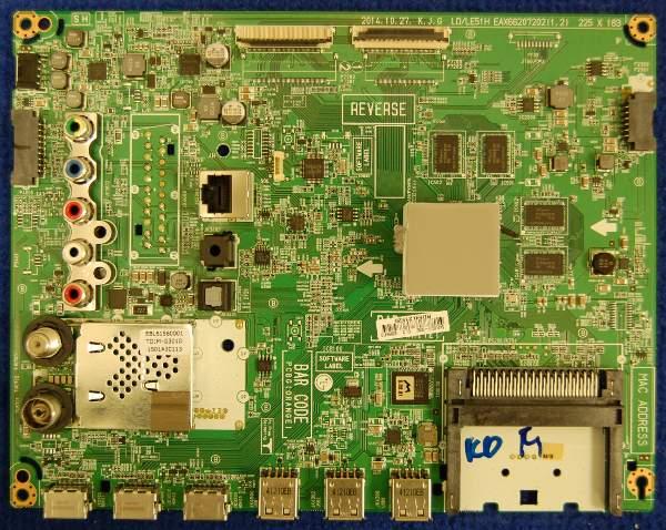 Main Board EAX66207202(1.2) LD/LE51H от телевизора LG 42LF652V-ZB