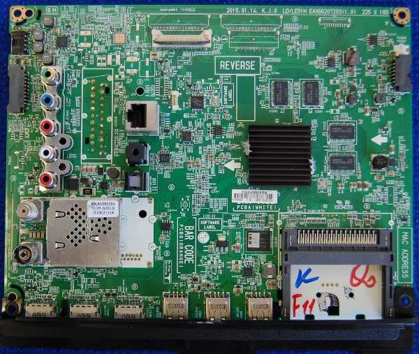 Main Board EAX66207203 (1.0) от телевизора LG 40LF630V-ZA