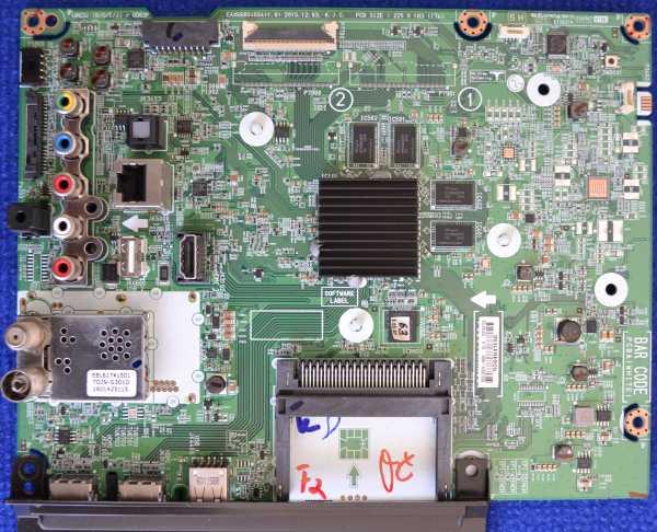 Main Board EAX66804604 (1.0) от LG 65UH676V