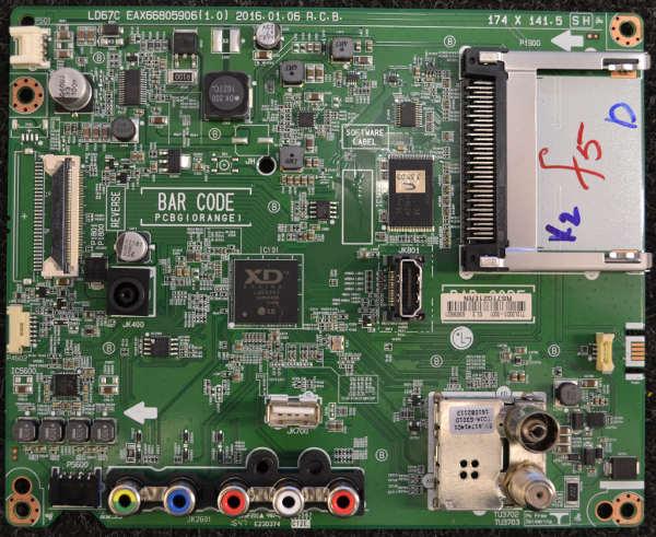 Main Board EAX66805906 (1.0) от LG 43LH520V