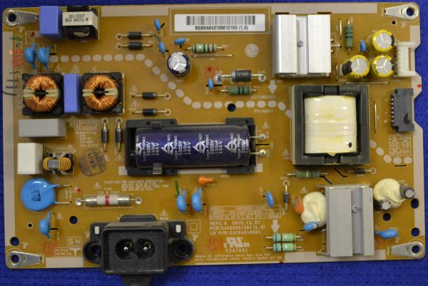 Power Supply Board EAX66851301 от LG 43LH570V