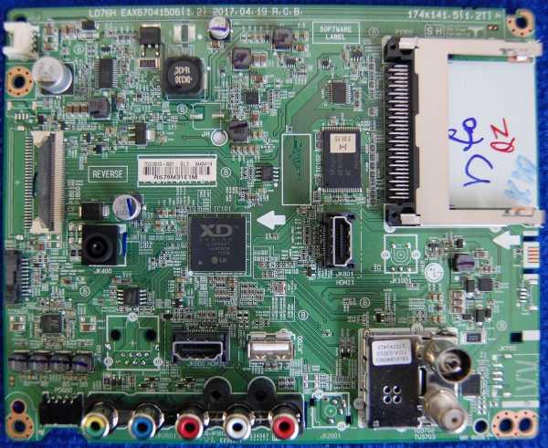 Main Board EAX67041506(1.2) от телевизора LG 43LJ515V