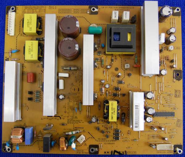 Power Supply Board EAY60696801 PSPU-J903A (3PAGC00001A-R) от телевизора LG 42PQ100R-ZA