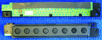 Button Board EBR1247123 от телевизора LG 42LE4500