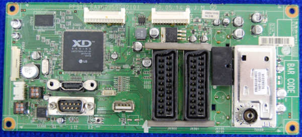 Main Board EAX60959002(0) EBR62352205 от телевизора LG 42PQ100R-ZA