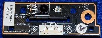 IR Board EBR72670801 от телевизора LG 42LW575S-ZC, 32LW575S-ZC