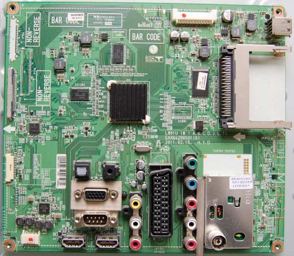 Main Board EAX64290501 (0) EBR73156253 от телевизора LG 32LV3400