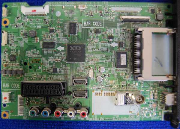 Main Board EAX64664903(1.0) EBR75097905 от телевизора LG 32LS3510-ZB