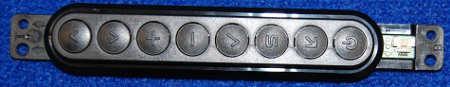 Button Board EBR76384101 от телевизора LG 32LA620V-ZA, 42LA662V-ZC, 42LA644V, 39LN540V-ZA