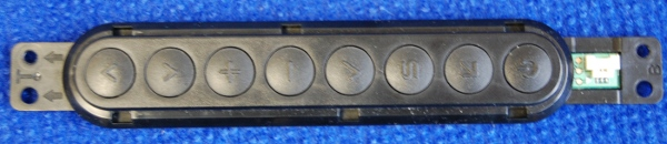 Button Board EBR76384101 от телевизора Samsung PS43D452A5W